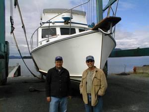 Bill Lard and the seller Ken Cameron