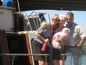 Edie, Malta and Bill Stevens